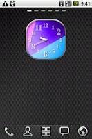 Screenshot of Colourful Clock Widget