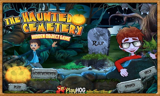 Haunted Cemetery Hidden Object