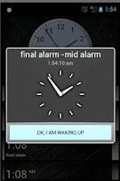 Screenshot of Final Alarm