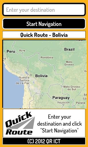 Quick Route Bolivia