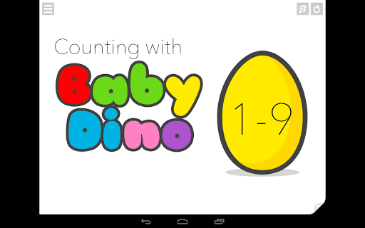 Baby Dino - Counting