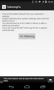 Tethering Fix