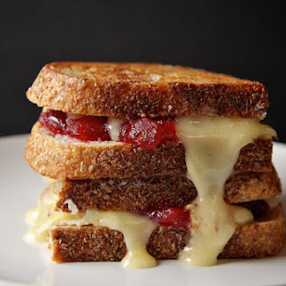 Cranberry Brie Grilled Cheese.