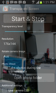 Transparent Screen PRO - screenshot thumbnail