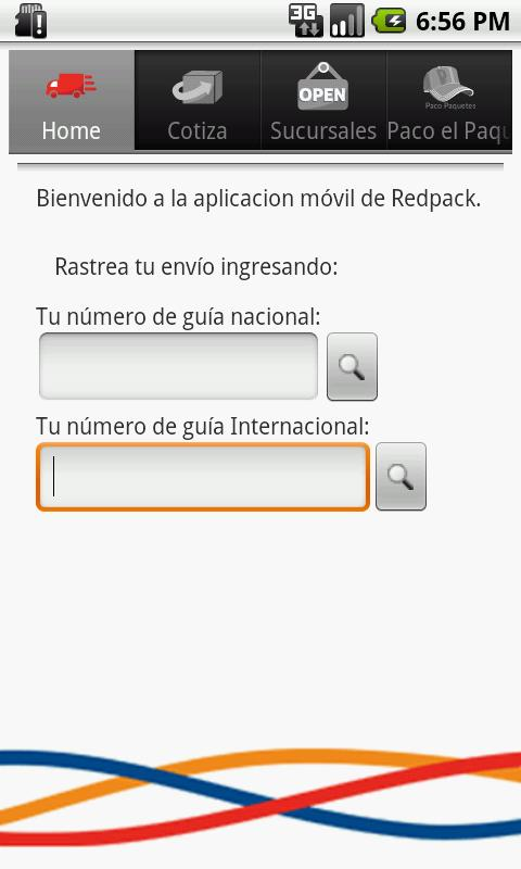 Redpack Movil Android - screenshot