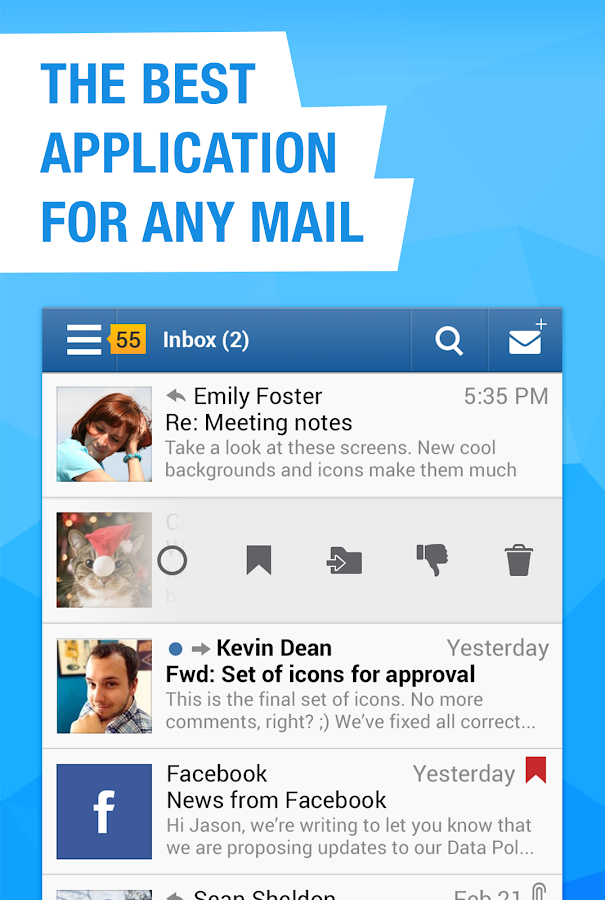 Mail.Ru - Email App - screenshot