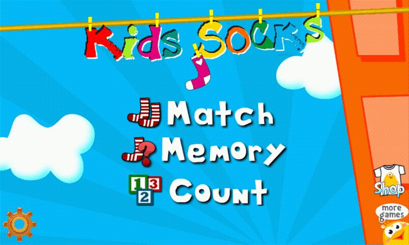 Kids Socks Plus - screenshot