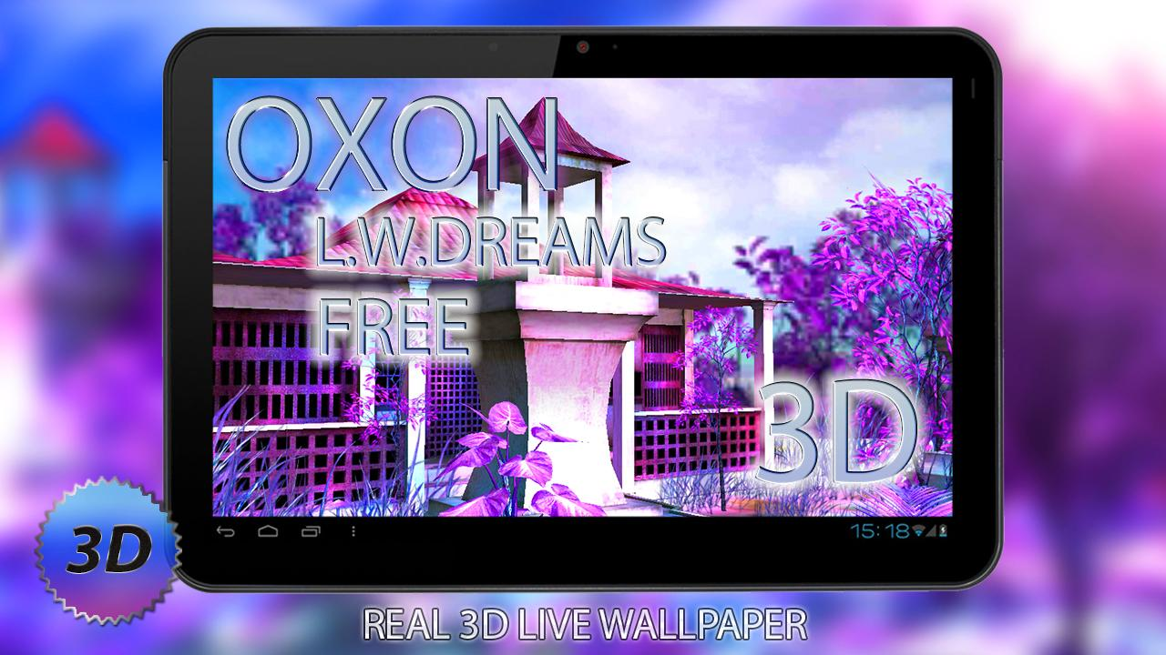 Dreams Free 3D LWP - screenshot