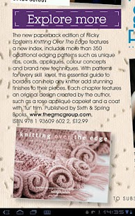 Knitting Magazine - screenshot thumbnail