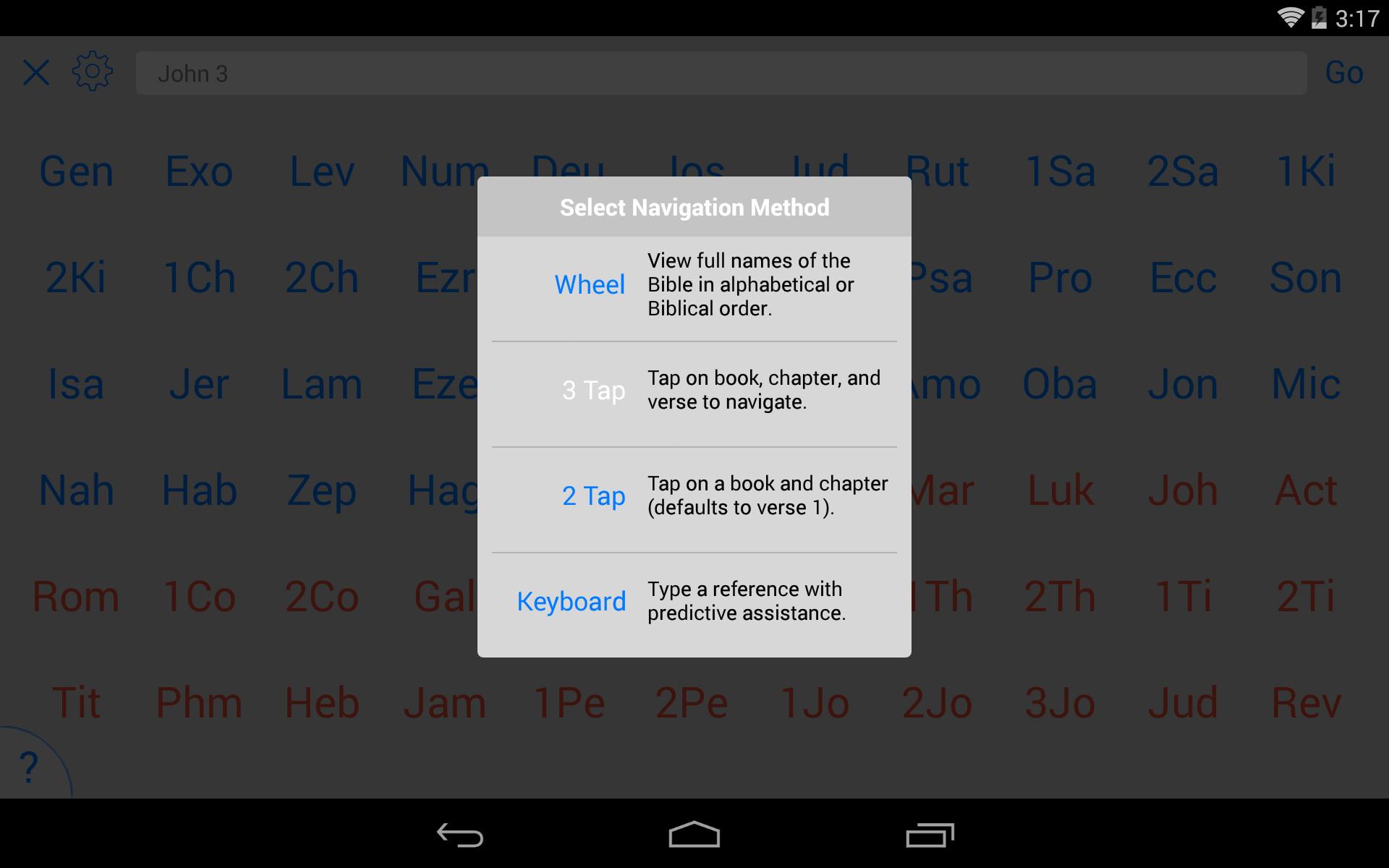 NKJV Bible screenshot #19