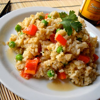 Thai Peanut Rice Pilaf