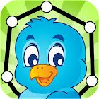 Animals - Connect Dots for Kids icon