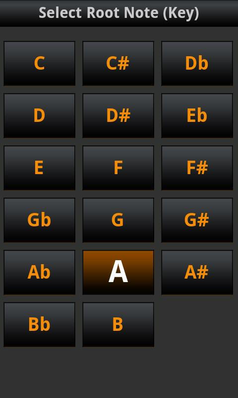 All Guitar Chords - screenshot