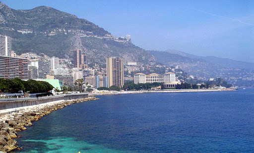 waterfront-monaco - The waterfront of Monte Carlo.