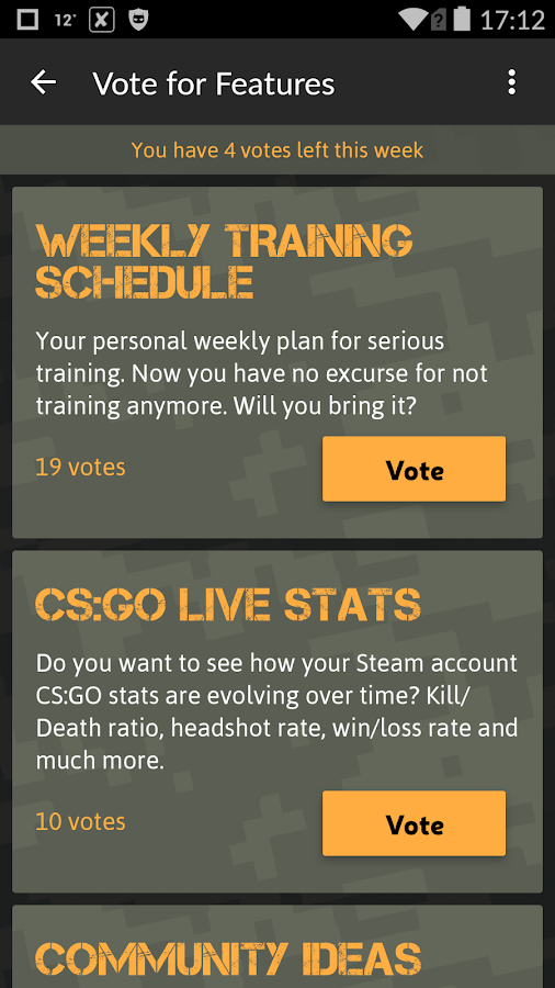 Skill Trainer for CSGO- screenshot