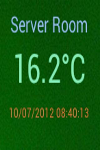 Simple Text Updater Widget- screenshot
