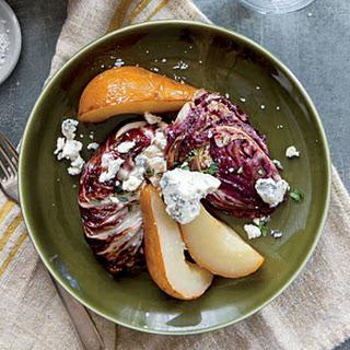 Roasted Balsamic Radicchio and Pears