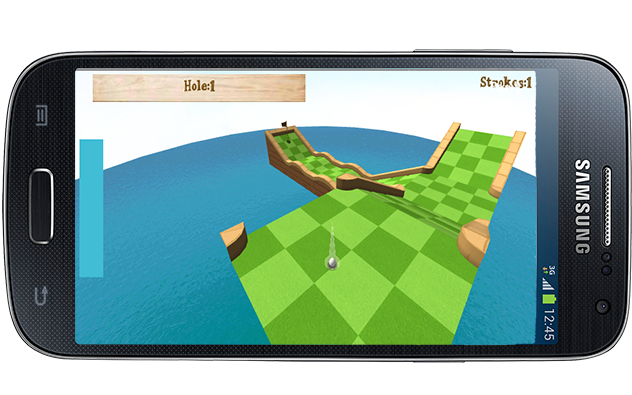 Mini Golf 3D - screenshot