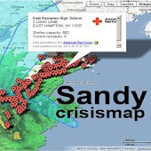 Sandy Hurricane crisis map