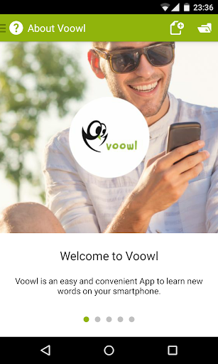 Voowl - learn foreign words