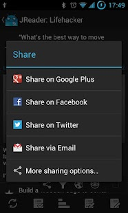 JReader (Google Reader | RSS)- screenshot thumbnail
