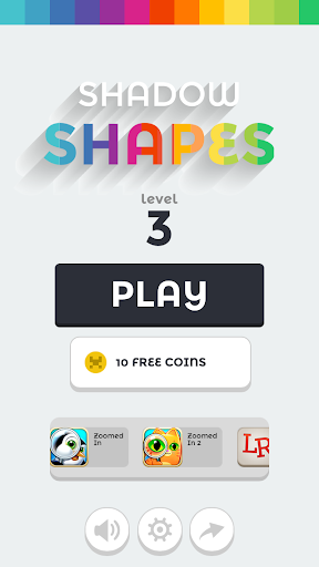 Shadow Shapes - Word Game