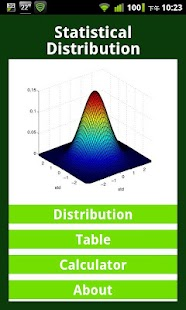 Statistical Distribution- screenshot thumbnail
