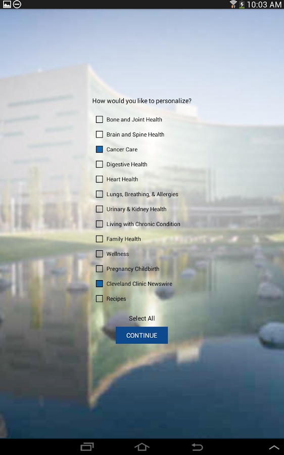 Cleveland Clinic Today- screenshot