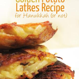 Golden Potato Latkes Recipe for Hanukkah