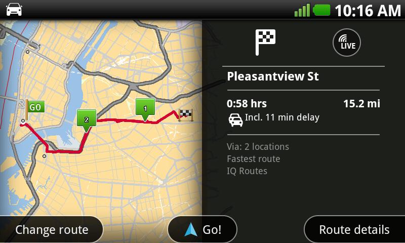 TomTom North America- screenshot