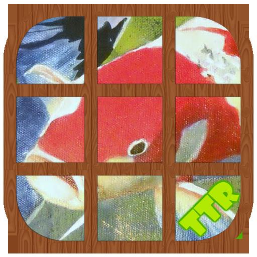 錦鯉 滑動 謎 解謎 LOGO-玩APPs