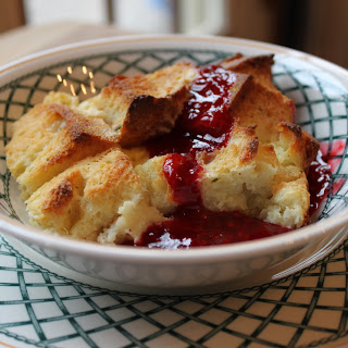 Herby Sweet and Savory Bread Pudding.