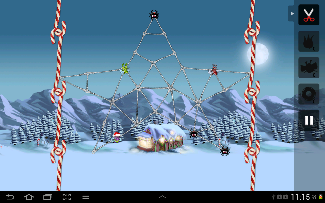 Greedy Spiders - screenshot