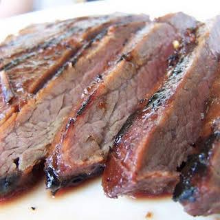 Sweet and Savory Flank Steak.