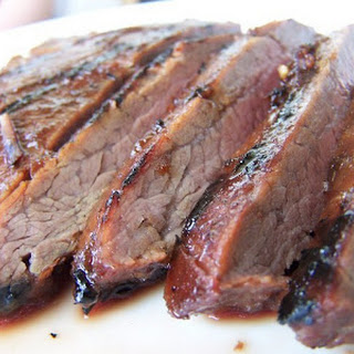 Sweet and Savory Flank Steak.