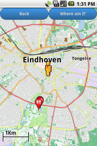Eindhoven Amenities Map free