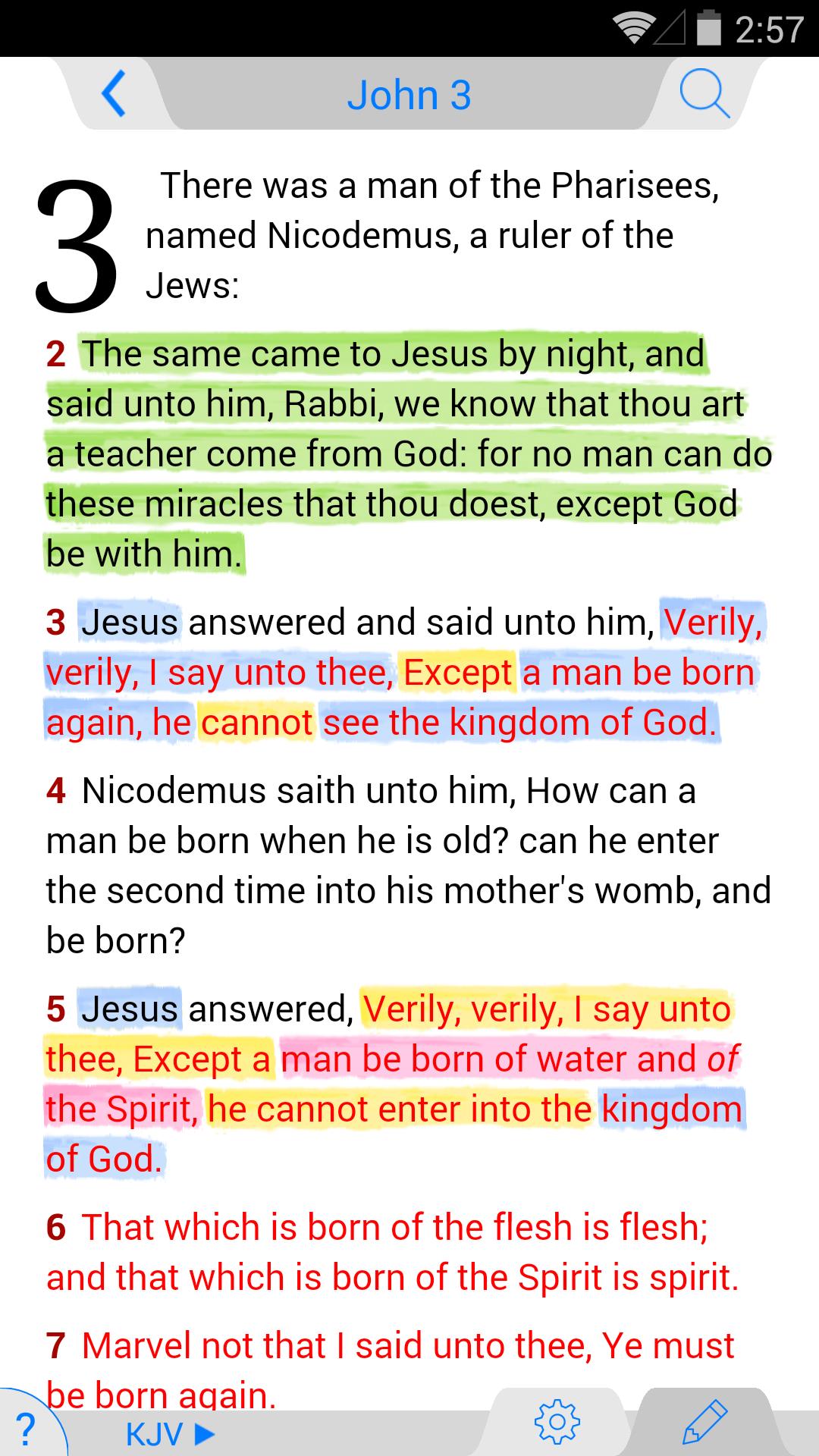 NKJV Bible screenshot #1