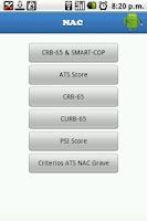 Screenshot of NAC