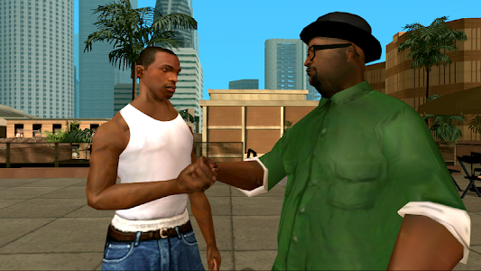 Grand Theft Auto: San Andreas v1.08 (Ammo & God mode)