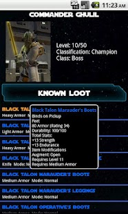 SWTOR Flashpoint Companion - screenshot thumbnail