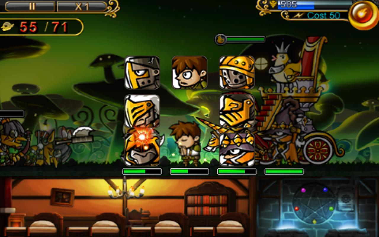 Defender of Diosa Plus- screenshot