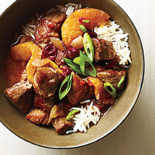 Orange-Cranberry Pork Stew
