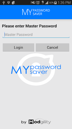 My Password Saver