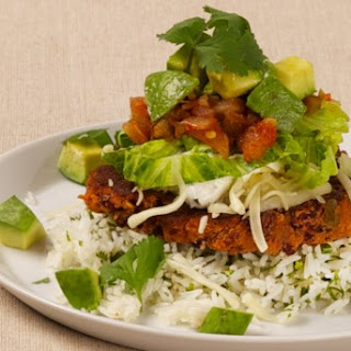 Bean Burgers with Coriander Cream CBC Best Recipes Ever.