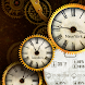 Gold Clock Live Wallpaper icon
