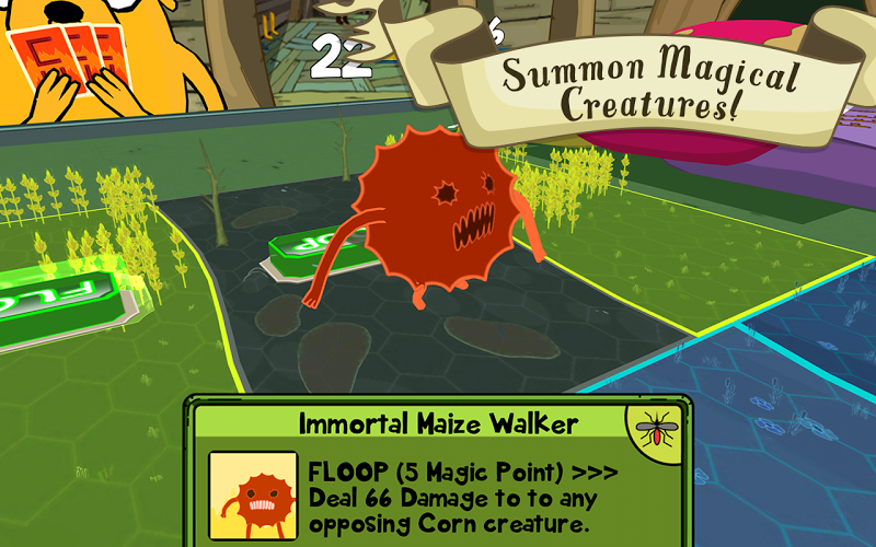 Card Wars - Adventure Time - screenshot