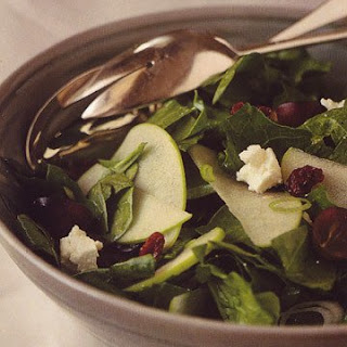 Winter Spinach Salad