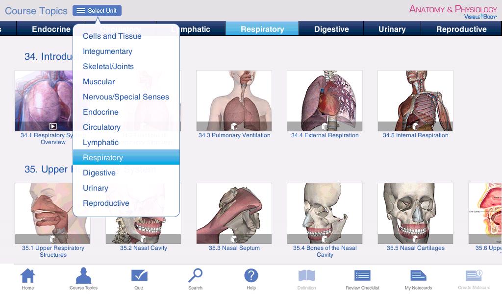 Anatomy & Physiology- screenshot