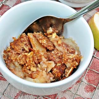 Paleo Apple Crisp (Grain/Gluten/Dairy/Egg free).