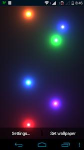 Nexus Glow Spheres HD PRO LWP v1.0